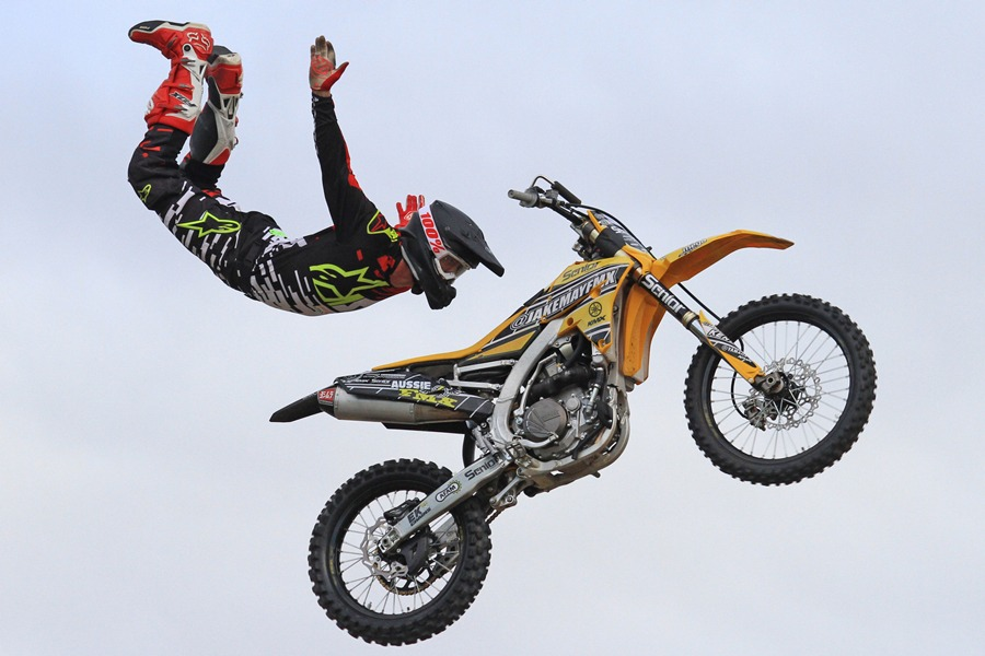 Professional experienced freestyle riders
